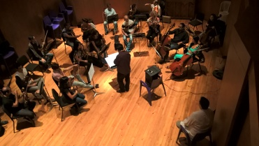 Recording String Section