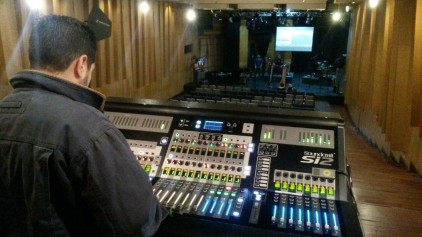 In BOD Theater. Tuning System