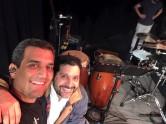 Morocho Gavidia percusion setup