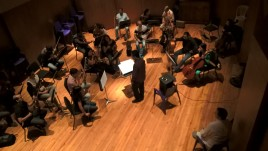 "Strings recording for Prince Royce ""Five"""