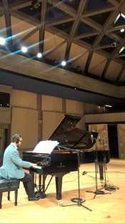 Piano Concert Yamaha recording setup