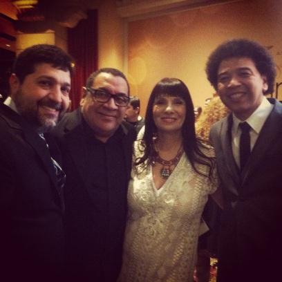 Sammy Figueroa,Sra. and Luisito Quintero