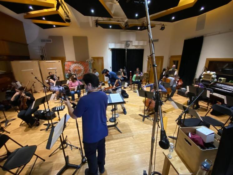 Miami Symphony MISO Session recording